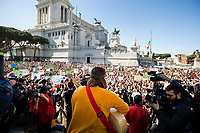 Unknown, Singer.<br /> <br /> Rome, 01/05/2019. This year I will not go to a MayDay Parade, I will not photograph Red flags, trade unionists, activists, thousands of members of the public marching, celebrating, chanting, fighting, marking the International Worker's Day. This year, I decided to show some of the Workers I had the chance to meet and document while at Work. This Story is dedicated to all the people who work, to all the People who are struggling to find a job, to the underpaid, to the exploited, and to the people who work in slave conditions, another way is really possible, and it is not the usual meaningless slogan: MAKE MAYDAY EVERYDAY!<br /> <br /> Happy International Workers Day, long live MayDay!