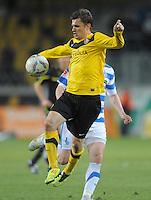Fussball, 2. Bundesliga, Saison 2011/12, SG Dynamo Dresden - MSV Duisburg, Freitag (24.02.12), gluecksgas Stadion, Dresden. Dresdens Zlatko Dedic.