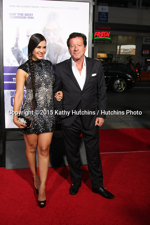 "LOS ANGELES - OCT 26:  Carla Ortiz, Joaquim de Almeida at the ""Our Brand is Crisis"" LA Premiere at the TCL Chinese Theater on October 26, 2015 in Los Angeles, CA"
