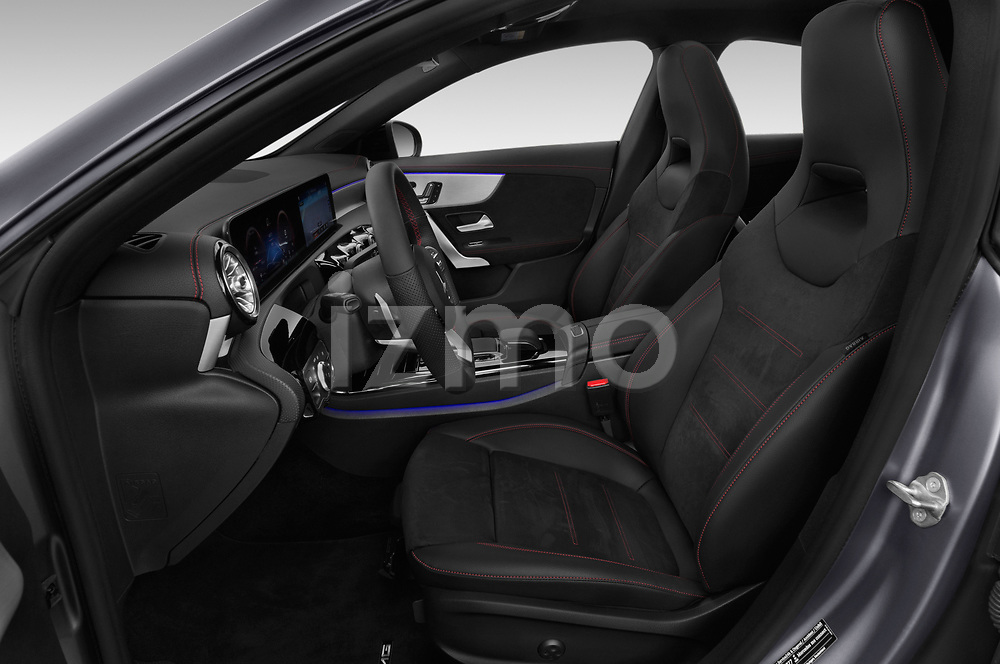Front seat view of a 2020 Mercedes Benz CLA AMG-Line 4 Door Sedan front seat car photos