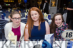 Enjoying the St. Senans GAA Social at the Rose Hotel on Friday were Orla Dillon, Ciara Walsh and Sinead Behan