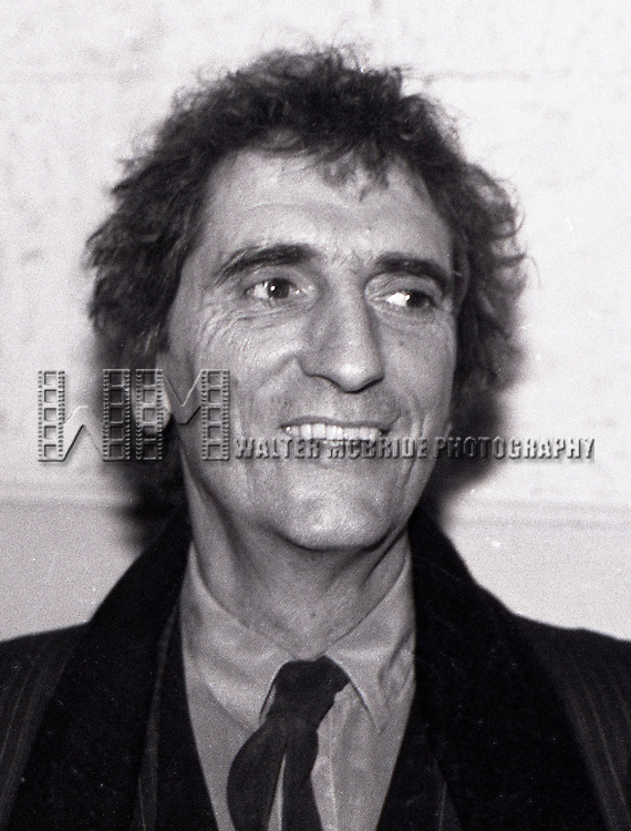 Harry Dean Stanton attends the premiere of 'One From the Heart'  on February 15, 1982 at Radio City Music Hall in New York City.