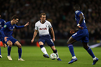 Harry Kane of Tottenham Hotspur and Antonio Rudiger of Chelsea during Tottenham Hotspur vs Chelsea, Caraboa Cup Football at Wembley Stadium on 8th January 2019