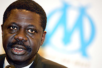 31st March 2020, France; It has been announced that Pape Diouf, ex-President of League 1 football club in France has died from Covid-19 Coroma Virus.   Pape Diouf