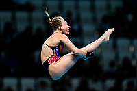 Picture by Rogan Thomson/SWpix.com - 18/07/2017 - Diving - Fina World Championships 2017 -  Duna Arena, Budapest, Hungary - Robyn Birch of Great Britain competes in the Women's 10m Platform Preliminary.