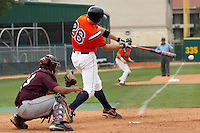 SAN ANTONIO, TX - MAY 19, 2007: The Texas State University Bobcats vs. The University of Texas at San Antonio Roadrunners Baseball at Roadrunner Field. (Photo by Jeff Huehn)