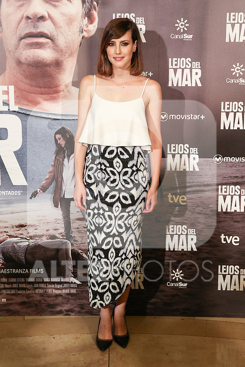 Natalia de Molina during the premiere of Lejos del Mar flim at Palafox cinema. August 30, 2016. (ALTERPHOTOS/Rodrigo Jimenez)