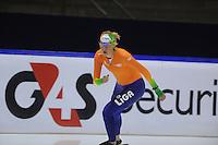 SCHAATSEN: HEERENVEEN: 21-03-2014, IJsstadion Thialf, Training WK Allround, Jorien Voorhuis, ©foto Martin de Jong