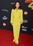 "Ally Maki 016 arrives at the premiere of Disney and Pixar's ""Toy Story 4"" on June 11, 2019 in Los Angeles, California."