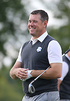Lee Westwood (Team Europe) during Thursday's Practice Round ahead of The 2016 Ryder Cup, at Hazeltine National Golf Club, Minnesota, USA.  29/09/2016. Picture: David Lloyd | Golffile.