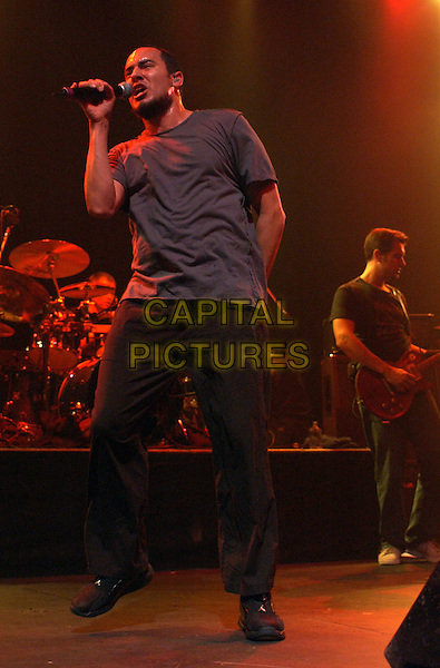 311 .perform live to a sold out crowd as part of their 'Unity Tour' at The Grove of Anaheim .29 February 2004.*UK Sales Only*.music, gig, concert, singing, stage.www.capitalpictures.com.sales@capitalpictures.com.©Capital Pictures.