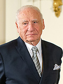 Mel Brooks, Actor, Comedian, & Writer of New York, New York listens as the citation is read prior to receiving the 2015 National Medal of Arts during a ceremony in the East Room of the White House in Washington, DC on Thursday, September 22, 2016.<br /> Credit: Ron Sachs / CNP