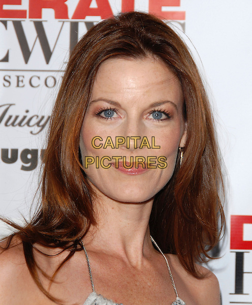LAURA LEIGHTON.The Desperate Housweives: Extra Juicy Season 2 DVD Launch held at Wisteria Lane in Universal City, California, USA..August 5th, 2006.Ref: DVS.headshot portrait .www.capitalpictures.com.sales@capitalpictures.com.©Debbie VanStory/Capital Pictures