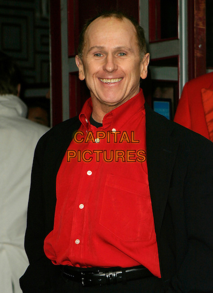 "WAYNE SLEEP.Arrivals for ""Movin' Out"" Opening Night,.Apollo Victoria Theatre, .London, England, April 10th 2006..half length red shirt.Ref: AH.www.capitalpictures.com.sales@capitalpictures.com.©Adam Houghton/Capital Pictures."