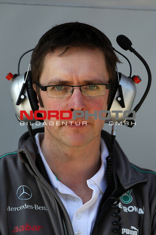 Andy Shovlin (GBR), Mercedes GP Team Chief engineer<br />   Foto &copy; nph / Polepositon<br /> *** GER and CRO only ***** *** Local Caption ***