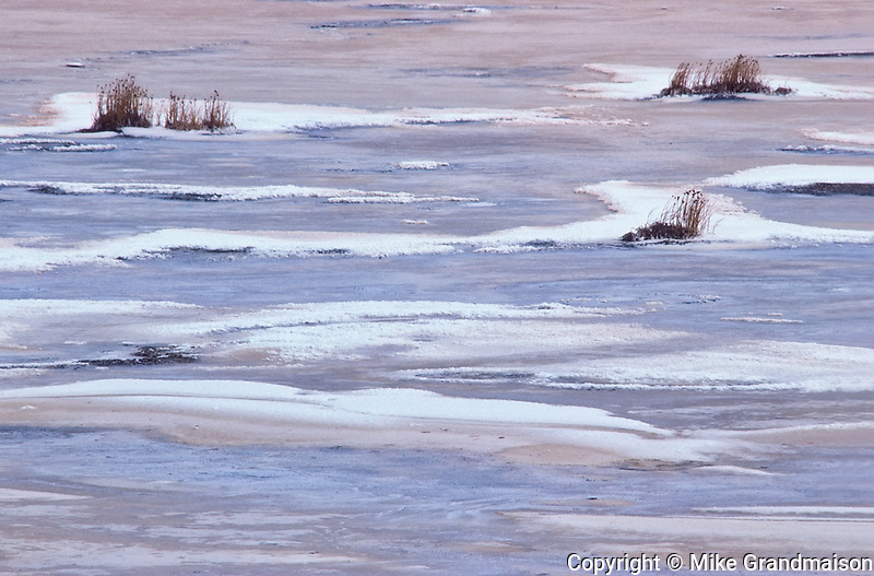 Alkali slough, Near Prince albert, Saskatchewan, Canada