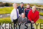 Cromane locals  Willie Galvin, Brian Keary, Pat Casey, Finbar Casey and Sean Roche, Cromane community council  want Cromane to be included on The Wild Atlantic Way. Pictured at the breathtaking scenery Cromane Peninsula which was named in the top five in the Europe's 50 Secret Spots for Travellers by the Lonely Planet guide book last year