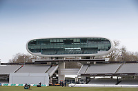 The JP Morgan Media Centre at Lords during Middlesex CCC vs Lancashire CCC, Specsavers County Championship Division 2 Cricket at Lord's Cricket Ground on 12th April 2019