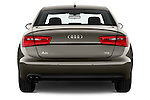 Straight rear view of a 2014 Audi A6 AVUS 4 Door Sedan 2WD