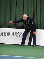 18-01-14,Netherlands, Rotterdam,  TC Victoria, Wildcard Tournament, Linesman<br /> Photo: Henk Koster