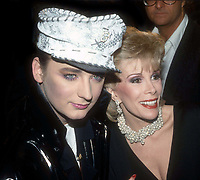 #BoyGeorge #JoanRivers 1985<br /> Photo By Adam Scull/PHOTOlink.net
