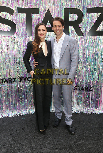 CENTURY CITY, CA - June 2: Sophie Skelton, Richard Rankin, at Starz FYC 2019 — Where Creativity, Culture and Conversations Collide at The Atrium At Westfield Century City in Century City, California on June 2, 2019. <br /> CAP/MPIFS<br /> ©MPIFS/Capital Pictures