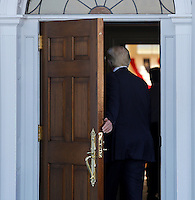United States President-elect Donald Trump holds meetings at the clubhouse of Trump International Golf Club, November 19, 2016 in Bedminster Township, New Jersey. <br /> Credit: Aude Guerrucci / Pool via CNP /MediaPunch