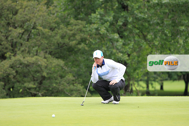 Eoin Arthurs (Forrest little) on the 2nd during round 1 of The Mullingar Scratch Cup in Mullingar Golf Club on Sunday 3rd August 2014.<br /> Picture:  Thos Caffrey / www.golffile.ie