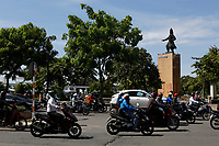 Street life and motorbike traffic in and around District One - Ho Chi Minh City.