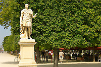Paris - France -Jardin des Tuileries - Statue