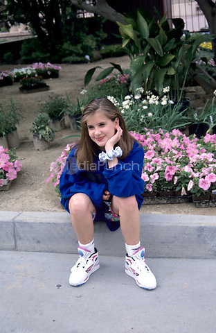 Kellie Martin in 1992.<br /> &copy; Nancy Barr  / MediaPunch