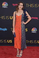 """HOLLYWOOD- SEPTEMBER 26:  Mandy Moore at the premiere of NBC's """"This Is Us"""" Season 2 at NeueHouse Hollywood on September 26, 2017 in Hollywood, California. (Photo by Scott Kirkland/PictureGroup)"""