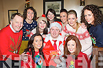 Launching the 2012 Christmas in Killarney festival in Courtney's bar on Friday night was front row l-r: Catriona O'Callaghan, Cillian Cashman, Laura Tangney. Back row: Paul Sherry, Kellie Doherty, Tanya O'Shea, Carmel Maddigan, Catriona Cahill and Emma Riordan ....