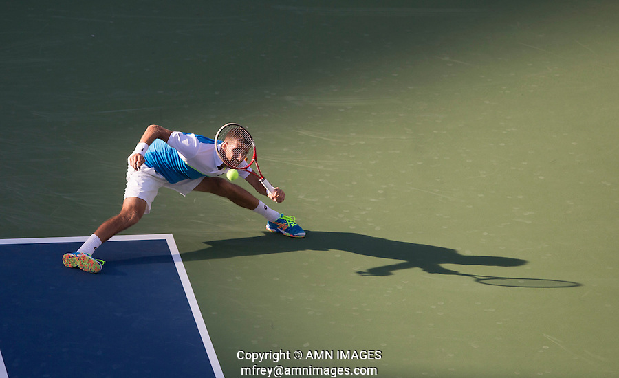 MARTIN KLIZAN (SVK)<br /> The US Open Tennis Championships 2014 - USTA Billie Jean King National Tennis Centre -  Flushing - New York - USA -   ATP - ITF -WTA  2014  - Grand Slam - USA  29th August 2014. <br /> <br /> © AMN IMAGES