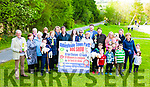 A photoshoot was held last Saturday evening to launch the annual Abbeyfeale Town Park Dog Show which will take place in the park on Sunday 19th. May at 2pm.