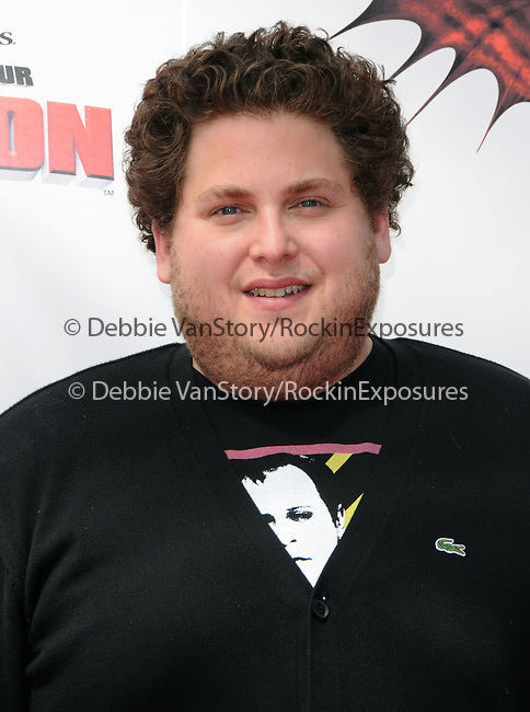 Jonah Hill at the Dreamwork Pictures' Premiere How to Train Your Dragon held at Gibson Universal in Universal City, California on March 21,2010                                                                   Copyright 2010  DVS / RockinExposures