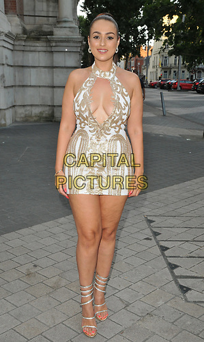 Amel Rachedi at the Syco summer party, Victoria and Albert Museum, Cromwell Road, London, England, UK, on Thursday 04th July 2019.<br /> CAP/CAN<br /> ©CAN/Capital Pictures