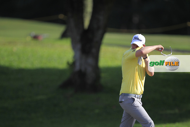Bernd Wiesberger (GER) walking onto the 18th green during Round 2 of the Maybank Championship on Friday 10th February 2017.<br /> Picture:  Thos Caffrey / Golffile<br /> <br /> All photo usage must carry mandatory copyright credit     (&copy; Golffile | Thos Caffrey)
