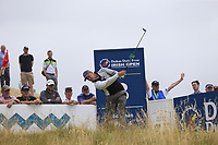 Mikko Ilonen (FIN) tees off the 8th tee during Saturday's Round 3 of the 2018 Dubai Duty Free Irish Open, held at Ballyliffin Golf Club, Ireland. 7th July 2018.<br /> Picture: Eoin Clarke | Golffile<br /> <br /> <br /> All photos usage must carry mandatory copyright credit (&copy; Golffile | Eoin Clarke)