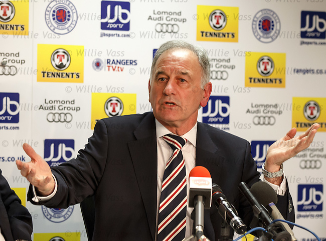 New Rangers chief executive Charles Green