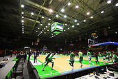 7th January 2018, San Pablo Sports Municipal Palace, Seville, Spain; Endesa League Basketball, Real Betis Energia Plus versus FC Barcelona Lassa; San Pablo Stadium as action starts