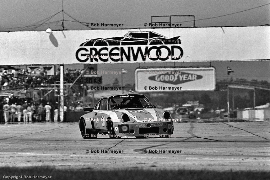 The Porsche Carrera RSR 911 of George Dyer and Brad Frisselle won the 1977 12 Hours of Sebring.