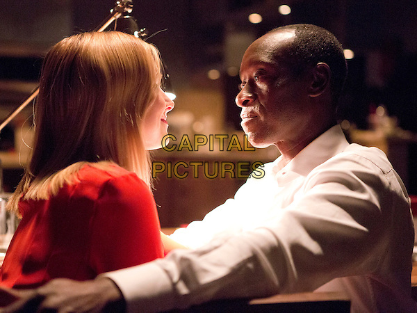 House of Lies (2012)<br /> (Season 3)<br /> Kristen Bell as Jeannie Van Der Hooven and Don Cheadle as Marty Kaan <br /> *Filmstill - Editorial Use Only*<br /> CAP/FB<br /> Image supplied by Capital Pictures