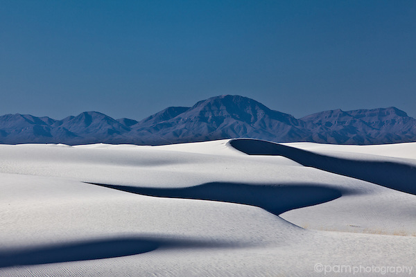 White Sand Dunes of New Mexico