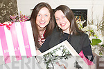 SISTERS: Ursula and Marie Carmody, sisters from Listowel who have just opened their own Bridal Store on Church Street...