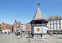 Nederland  Den Bosch  2016 . het Puthuis op het Marktplein in Den Bosch. Foto  Berlinda van Dam / Hollandse Hoogte