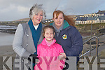 WINDY: What a wiundy day Patricia White, Jade and Patricia Daughton (Lixnaw) went to the Ballyheigue Races on Sunady.....