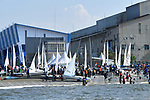 General view, <br /> AUGUST 31, 2018 - Sailing : Race at Indonesia National Sailing Center during the 2018 Jakarta Palembang Asian Games in Jakarta, Indonesia. <br /> (Photo by MATSUO.K/AFLO SPORT)