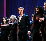 Emily Loesser, Jo Sullivan Loesser, Paul McCartney & Audra McDonald<br />