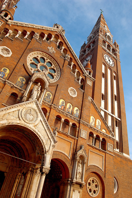 The Cathederal Szeged, Hungary. Szeged Dom.